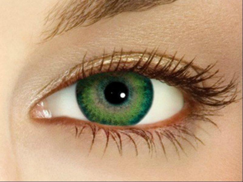 2f1b139f222 Rohelised silmad on rohelised. Värvilised kontaktläätsed. Kuidas ...